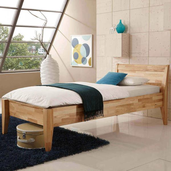 Massivholz-Komfortbett